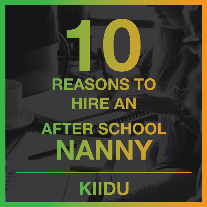 10 Reasons to Hire an After School Nanny in Bangkok!
