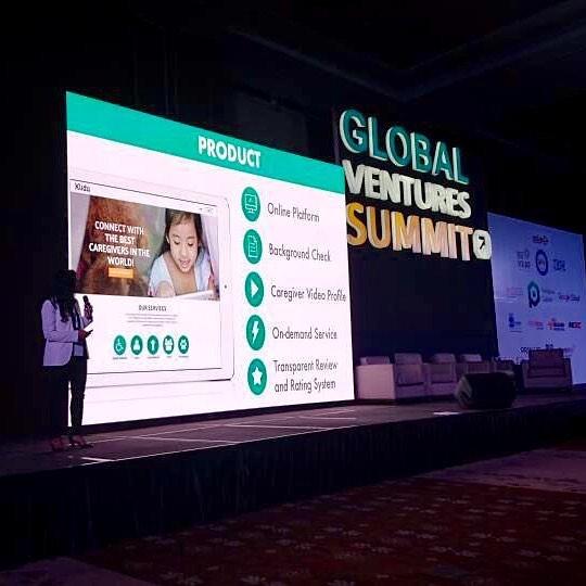 Kiidu at Global Venture Summit 2017
