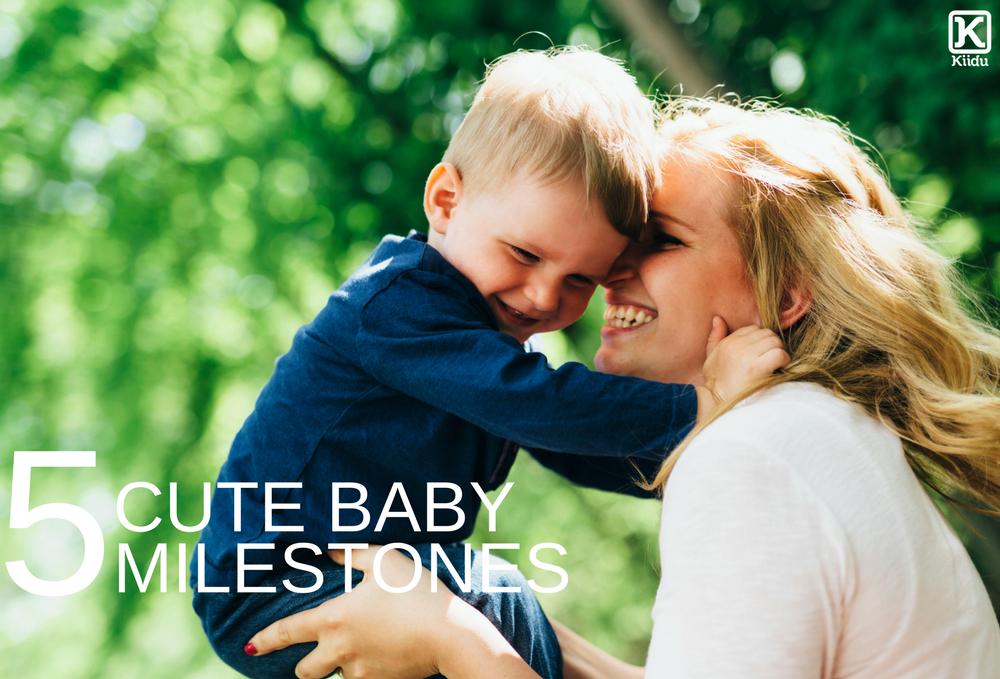 Top 5 Cute Baby Milestones to Celebrate