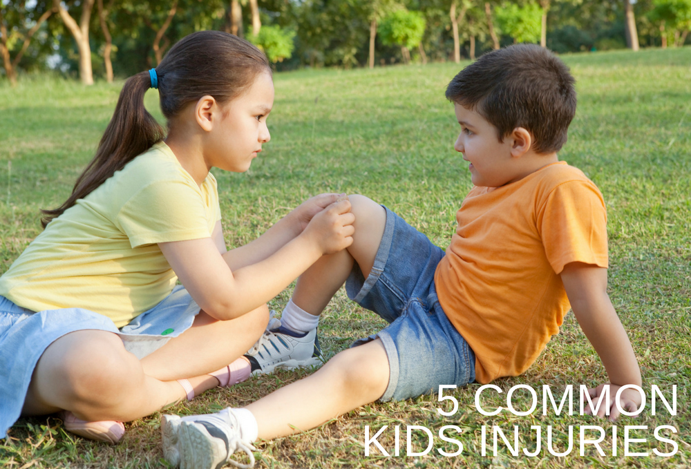 Common Kids Injuries and How to Deal with Them
