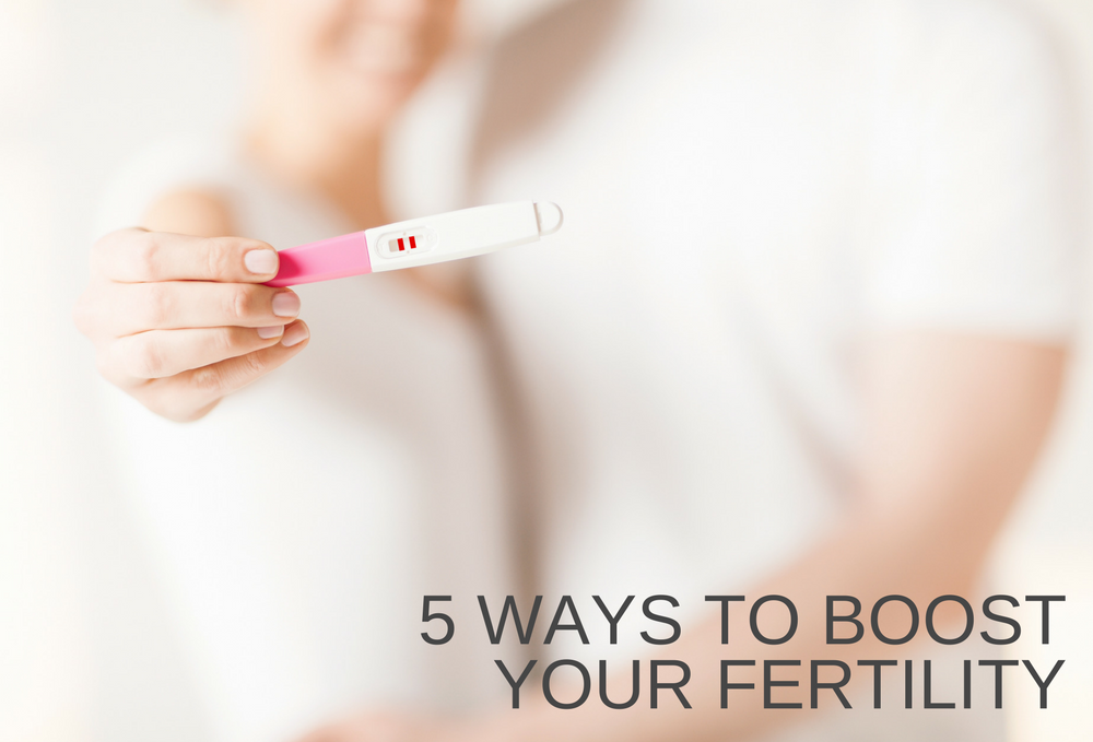 Tops 5 Ways to Boost your Fertility